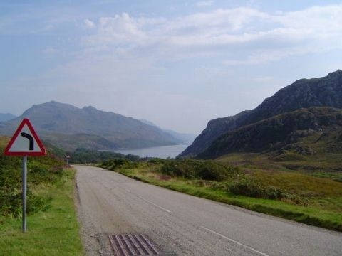 a894--inchnadamph-- Route Photo
