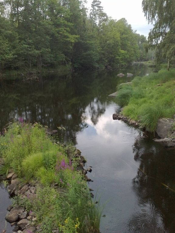 lake-mien-morrum-river-tingsryd-olofstrom-- Route Photo