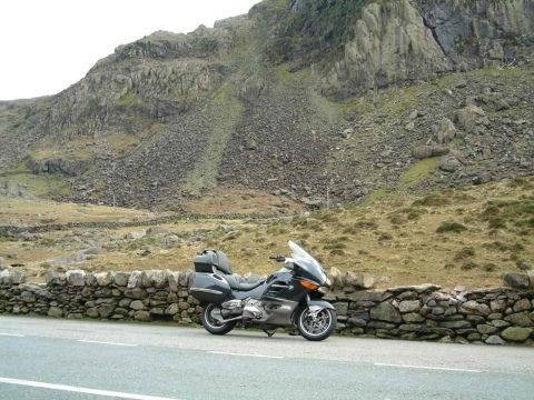 a4086--capel-curig- Route Photo
