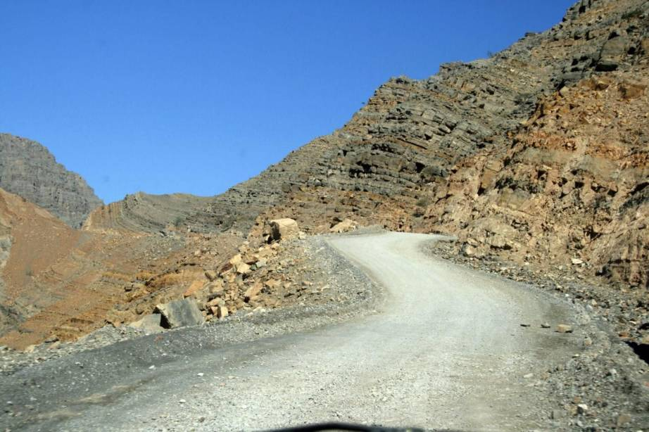 khasab-coastal-road- Route Photo