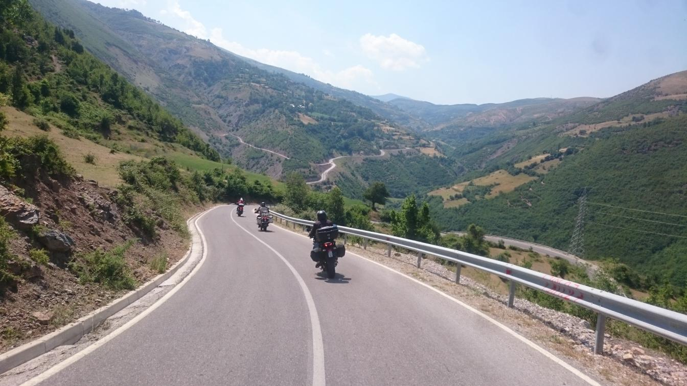 north-west-albania- Route Photo