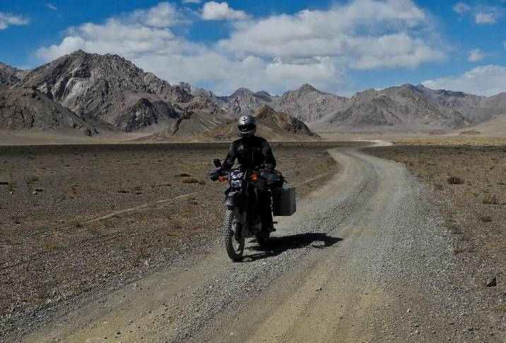pamir-highway-tajikistan- Route Photo