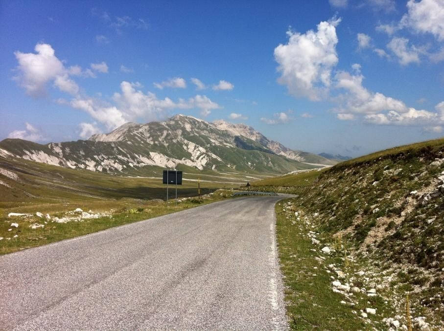 gran-sasso-d-italia-- Route Photo
